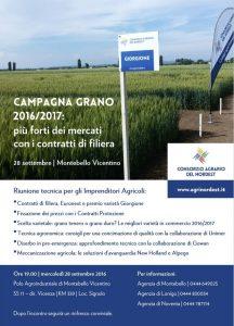 Convegno Campagna Grano 2016/2017 | Montebello Vicentino